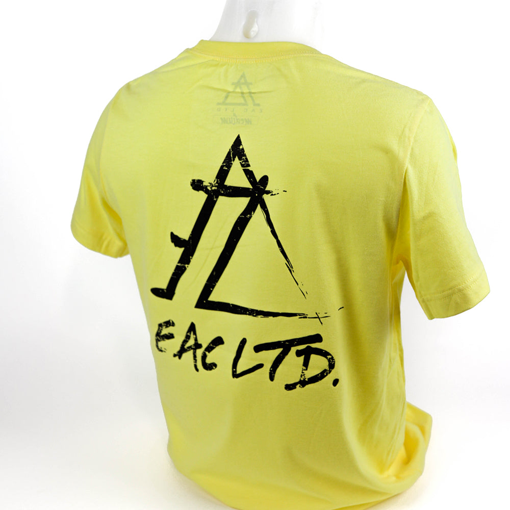 The Prizm Tee | EAC LTD. - Heather Yellow