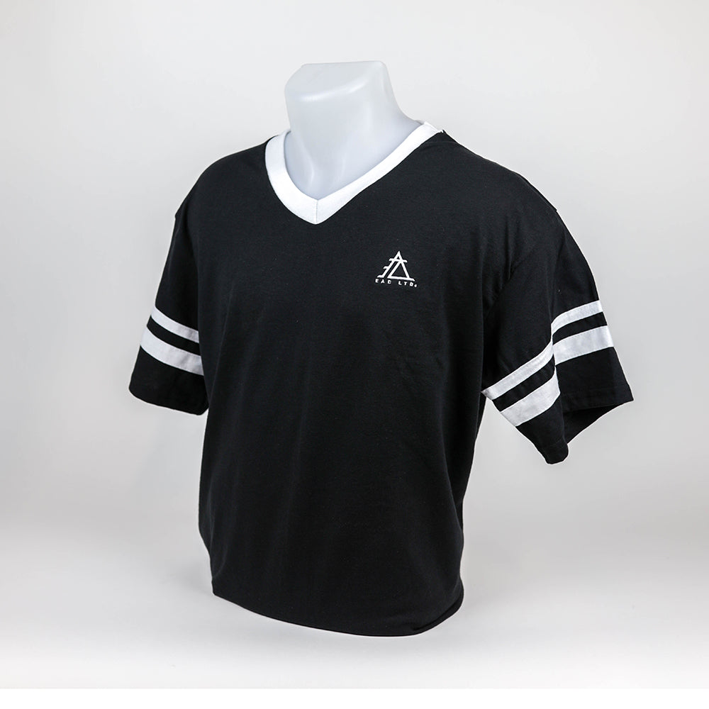 The Retro Jersey | EAC LTD. - Black with White Contrast