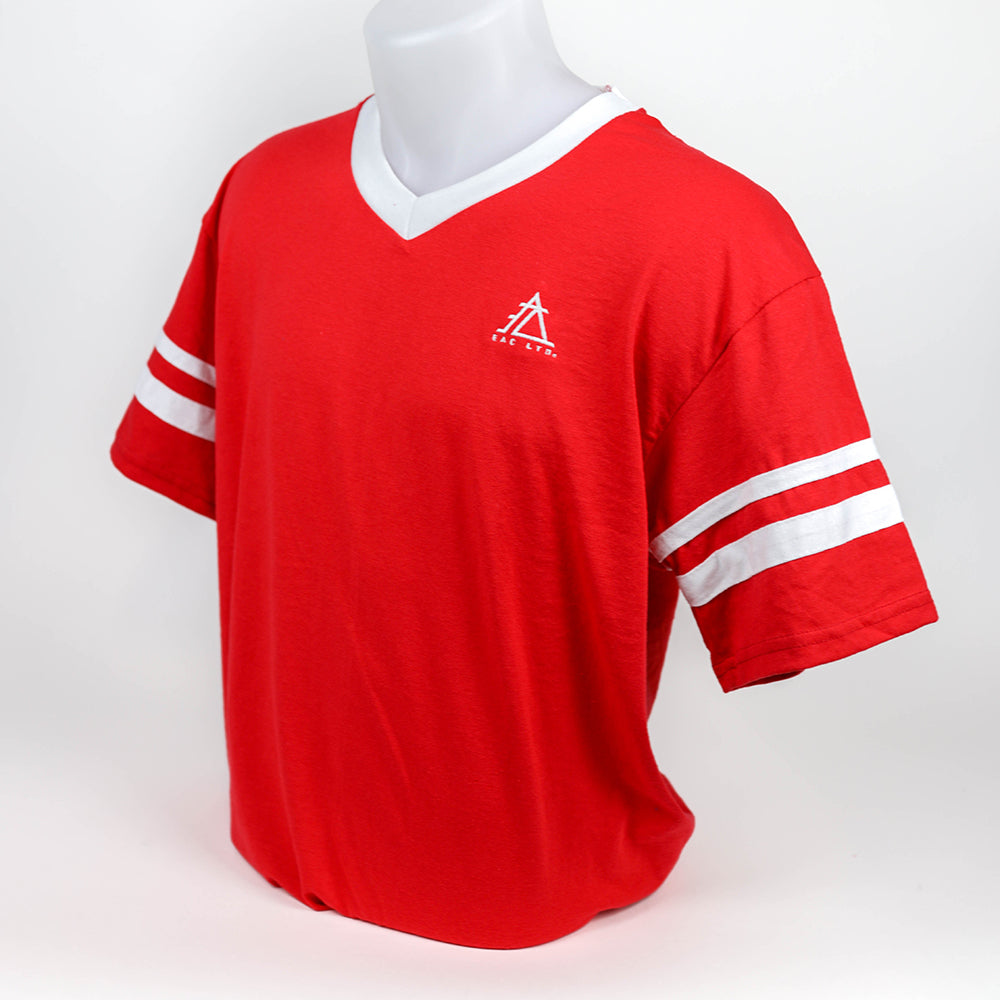 The Retro Jersey | EAC LTD - Red with White Contrast