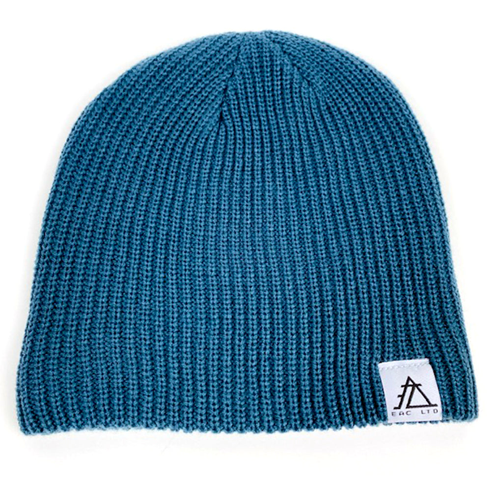 The Cable Beanie | EAC LTD. - Petrol Blue