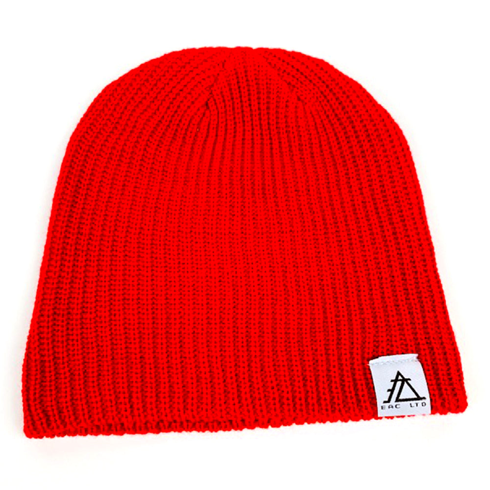 The Cable Beanie | EAC LTD. - Red