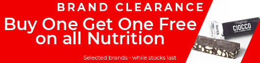 Buy one get one free on Nutrition