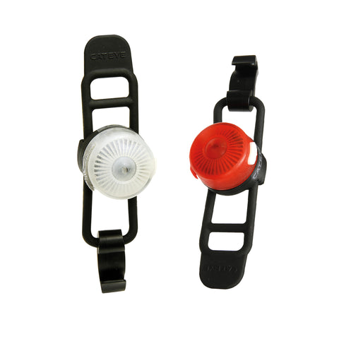 Cateye Loop 2 Front & Rear USB Rechargeable Light Set