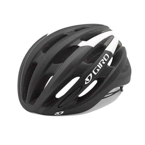 Giro Foray Road Helmet 2018 Black/white S 51-55cm