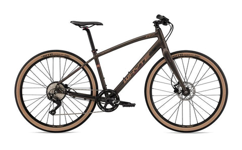 Whyte Victoria Plus V1, Large, Matt Bronze with Copper/Dark Red