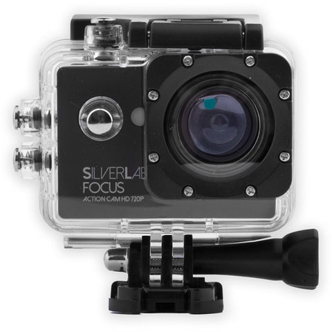 Silverlabel Focus Action Camera 720p -  in Silver & Black