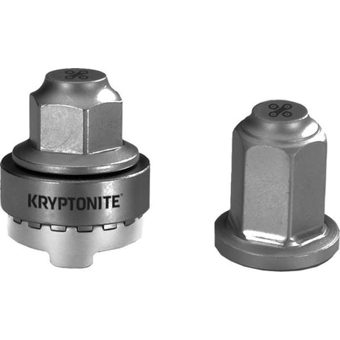 Kryptonite Security Wheelnutz - M9 Axle