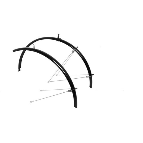 M:Part 700 x 55mm Commute mudguards black