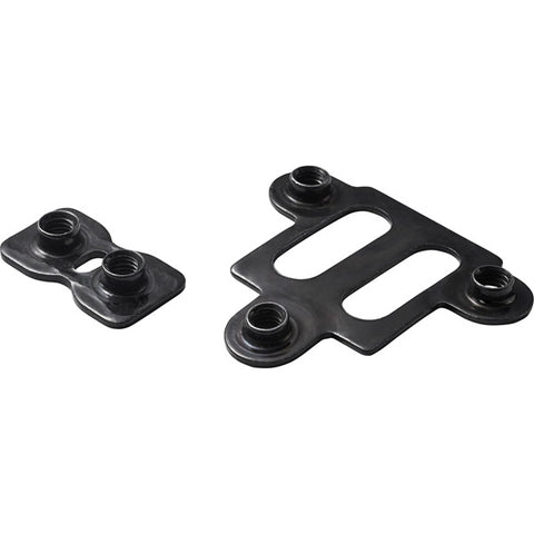 Shimano Cleat nut 5 hole, SPD-SL/SPD type, 2 piece