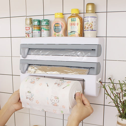 Kitchen Cling Film Cutting Holder