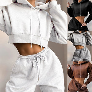 CALOFE Two Piece Hoodie Joggers set
