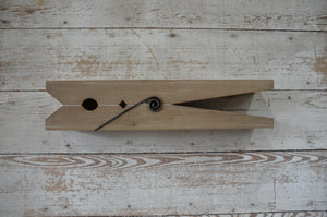Giant Clothes Pin Wall Decor