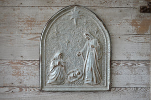 Holy Night Metal Wall Art