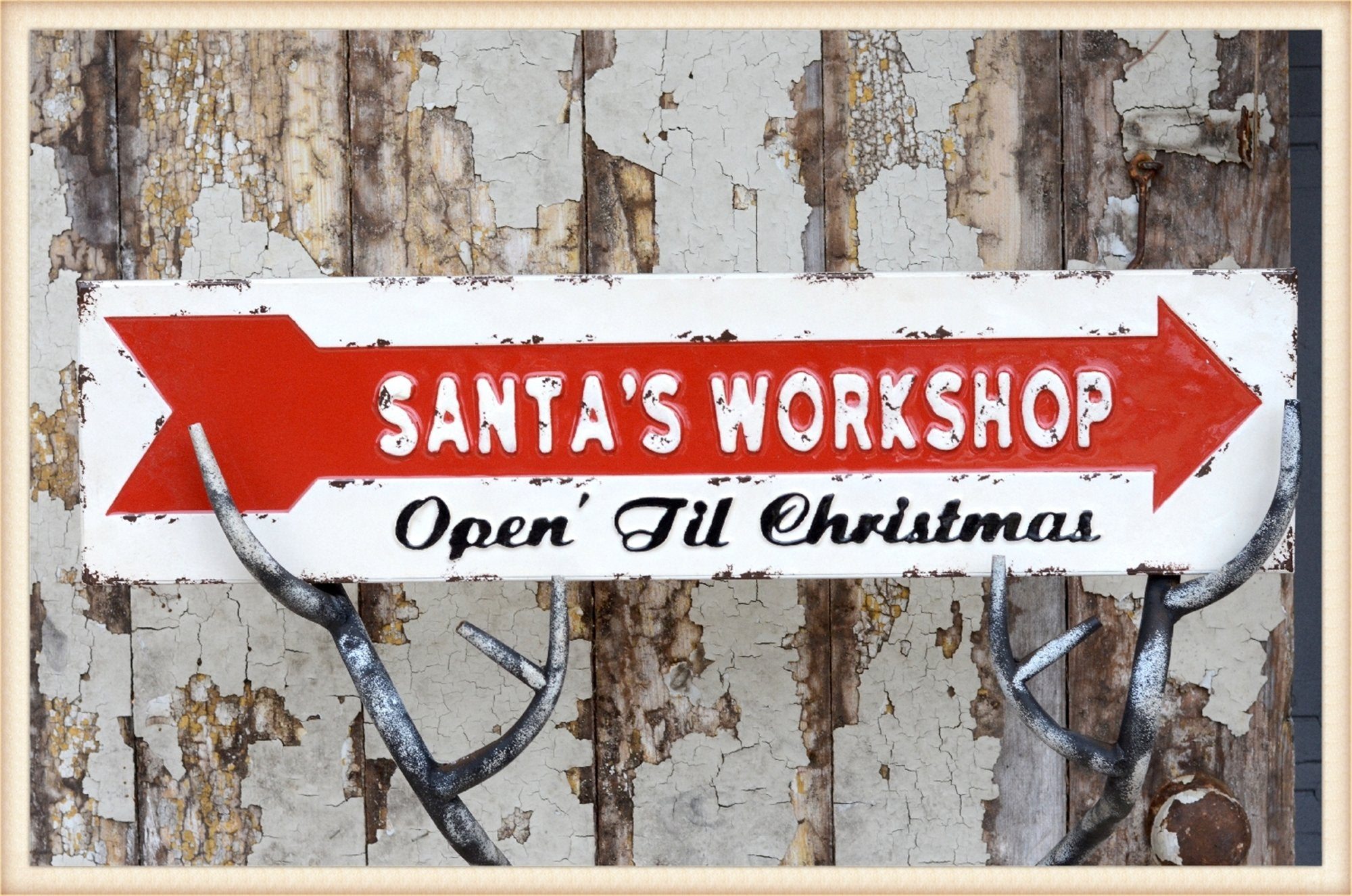 Santas Workshop Sign - Seasonal-Holiday