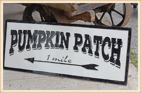 Pumpkin Patch Gloss Sign - Seasonal-Fall