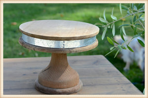 Banded Pedestal Small