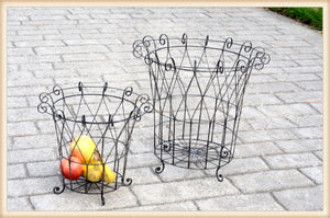 Wire Work Basket S/2