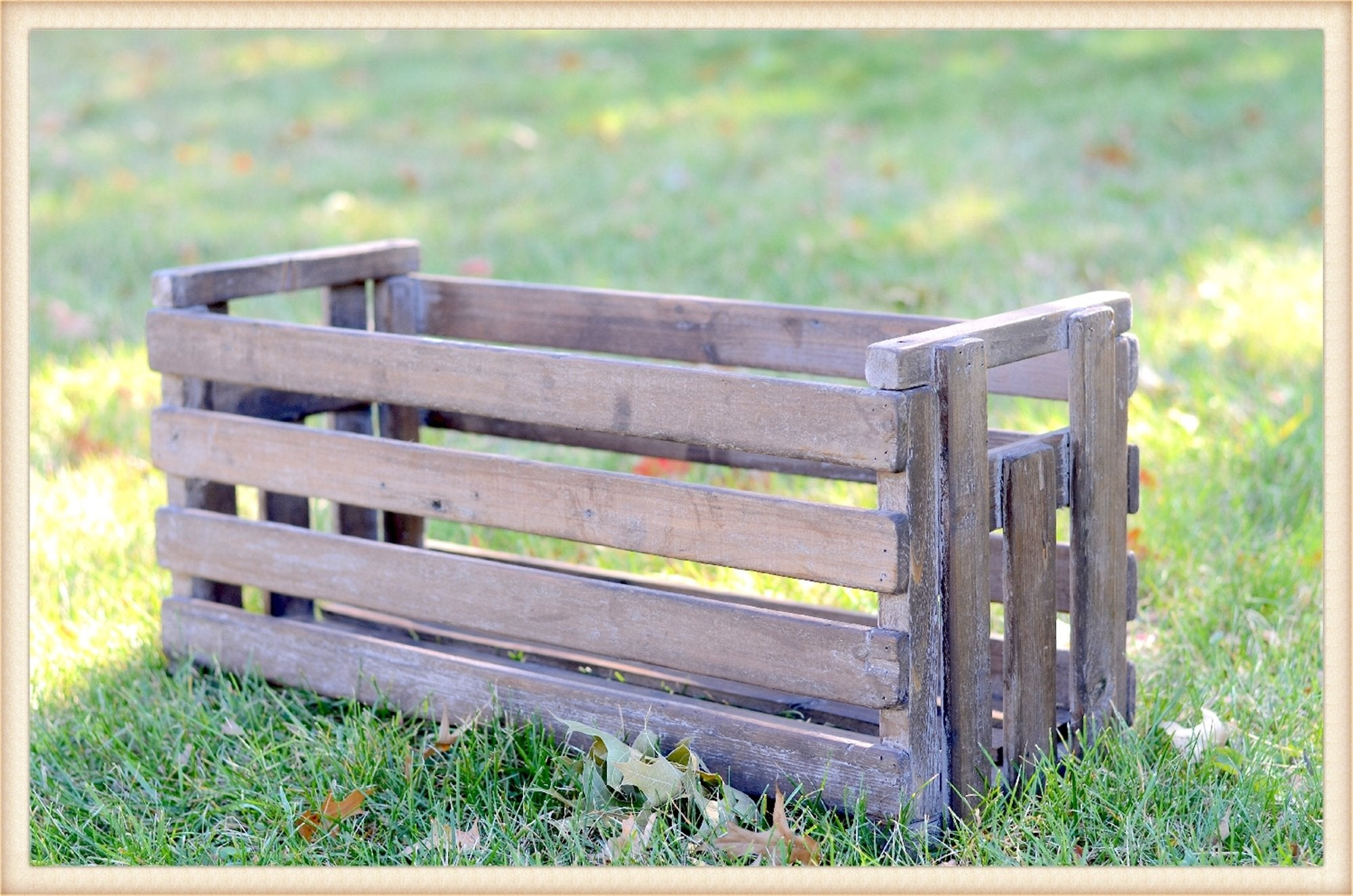 Tall Slat Crate