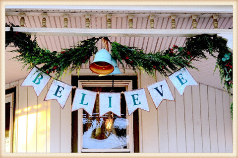 BELIEVE Flags - Seasonal-Holiday