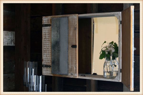 Pick Up Only-Slab Cabinet Mirror*