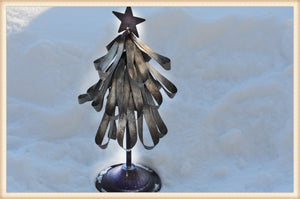 Metal Ribbon Tree - Seasonal-Holiday