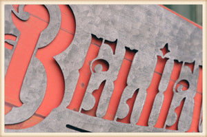 Scroll Believe Sign - Seasonal-Holiday