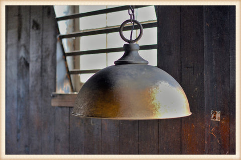 Large Ombre Dome Fixture