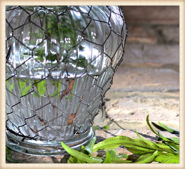 Wire Wrapped Urn-Pick Up Only