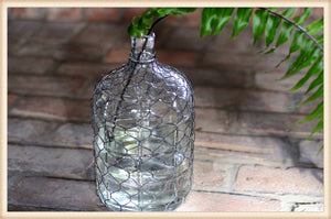 Large Wire Wrapped Bottle-Pick Up Only!