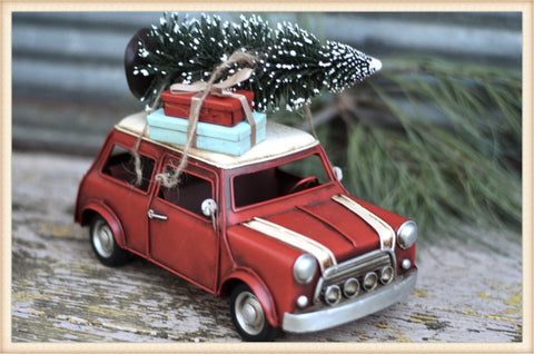 Mini Christmas Car - Seasonal-Holiday
