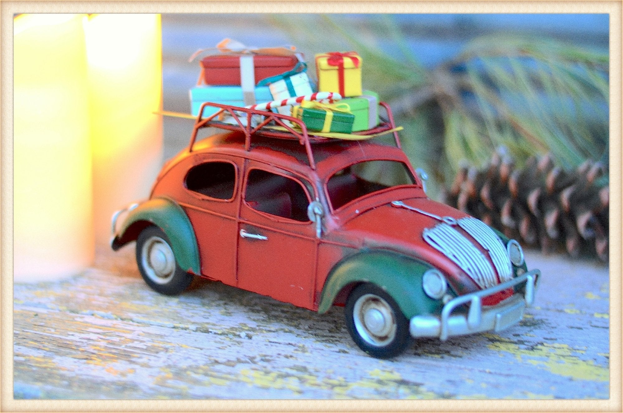 Bug Christmas Car - Seasonal-Holiday