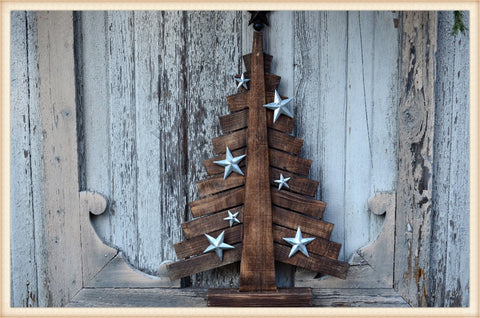 Finished Wood Tree - Seasonal-Holiday
