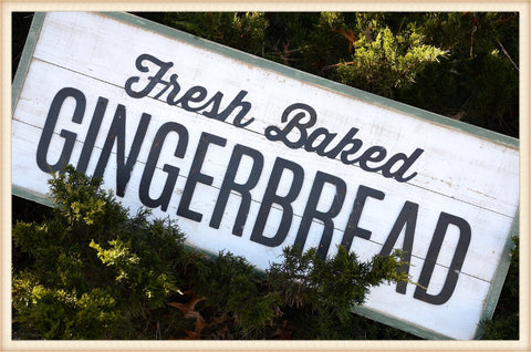 Gingerbread Sign - Seasonal-Holiday