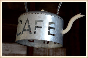 Cafe Kettle - life size kettle
