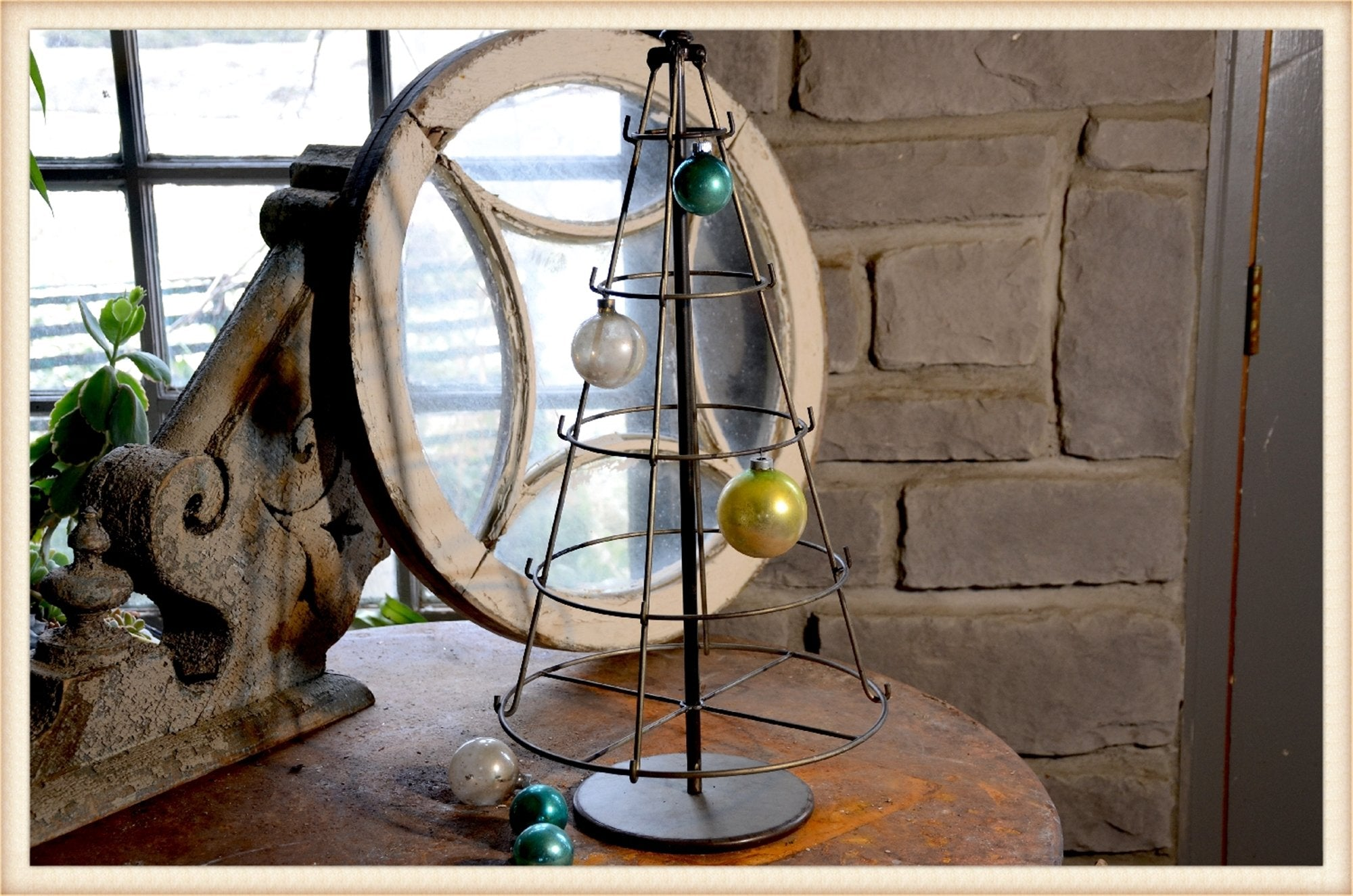 Christmas Ring Tree - Seasonal-Holiday