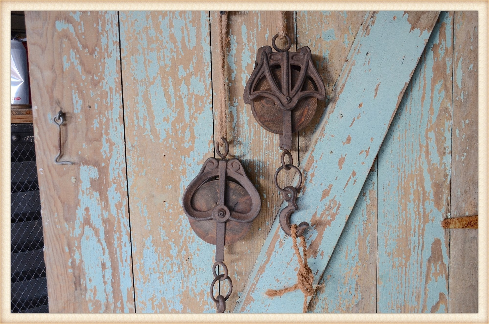 Pulley Set of Two-Pick Up Only!
