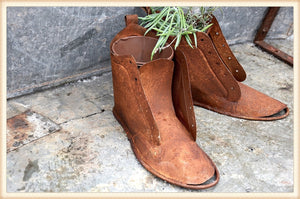 Rusty Shoe Planter