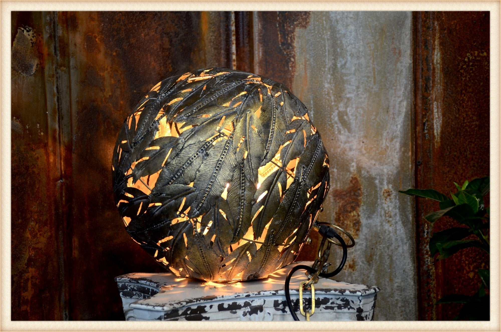 Gold Leaf Orb