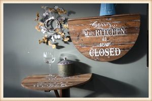 Kitchen Closed Wall Shelf