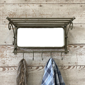 Mirror Mount With Hooks