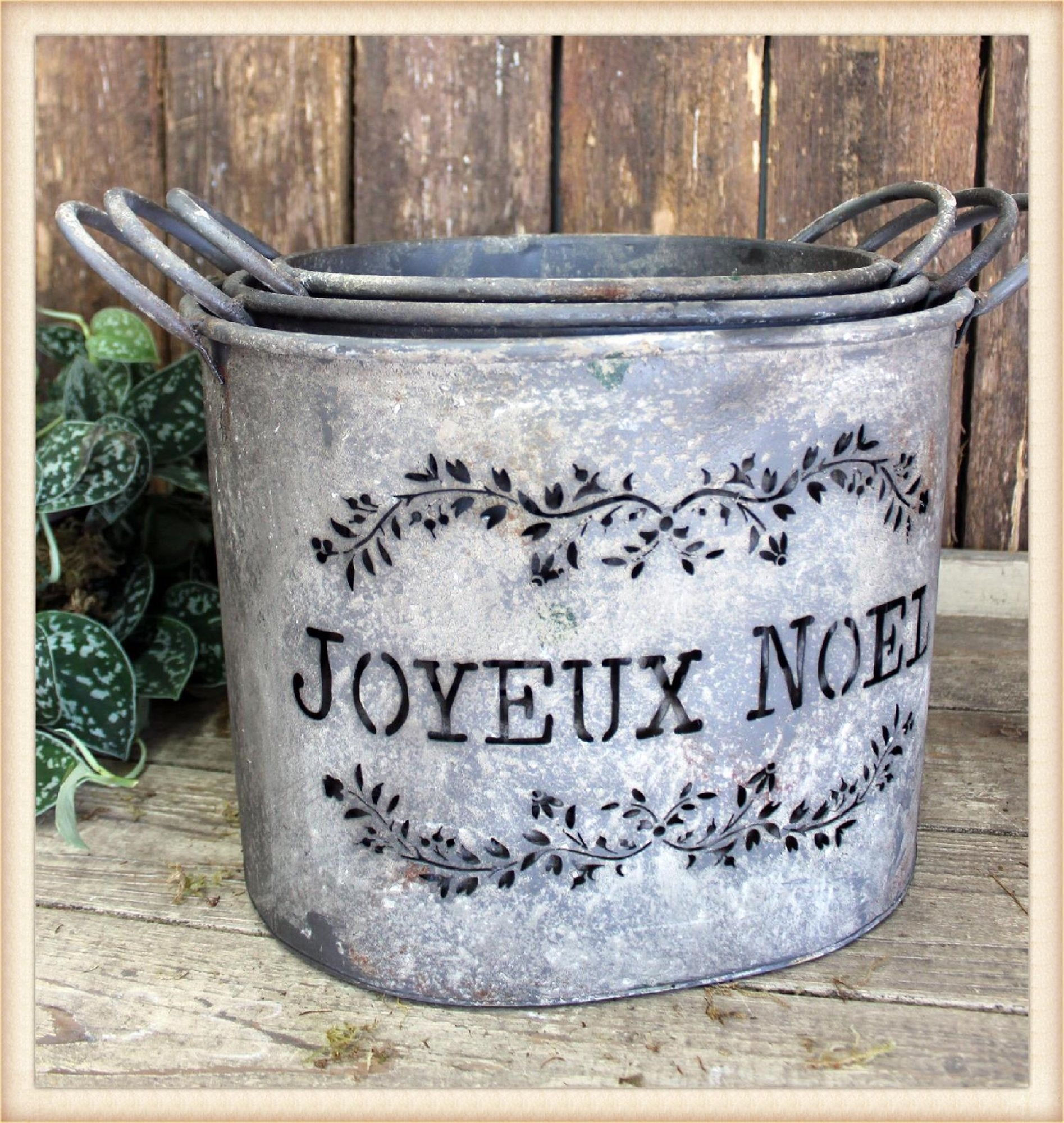 Joyeux Bucket S/3 - Seasonal-Holiday