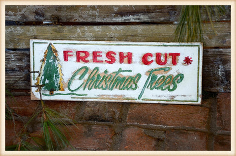 Fresh Cut Tree Engraved - Seasonal-Holiday