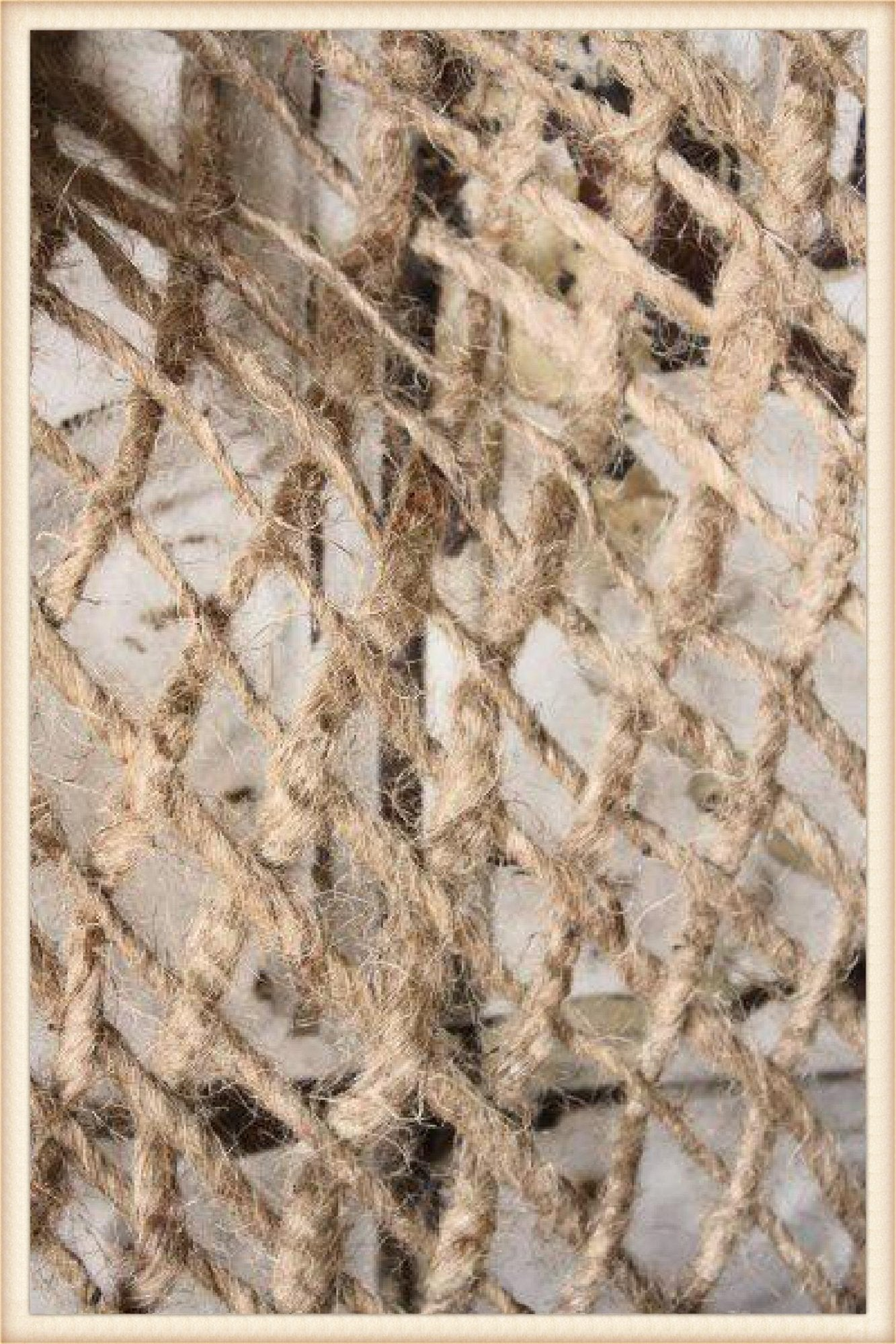 Open Burlap Net (5 square yards)