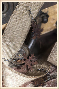 Rust Charm Ribbon