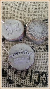 Distressed Tape Measures S/3