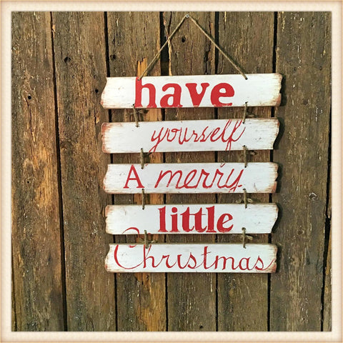 Merry Little Christmas Boards - Seasonal-Holiday