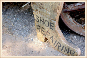 Harness Repair Boot Plaque