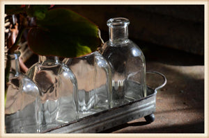 Five Medicine Bottle Stand