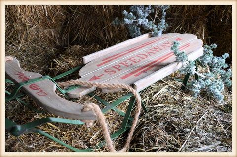 Christmas Sled - Seasonal-Holiday