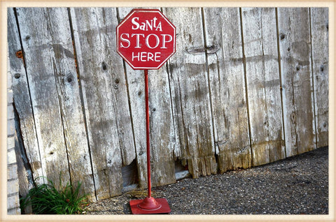 Stop Sign - Seasonal-Holiday